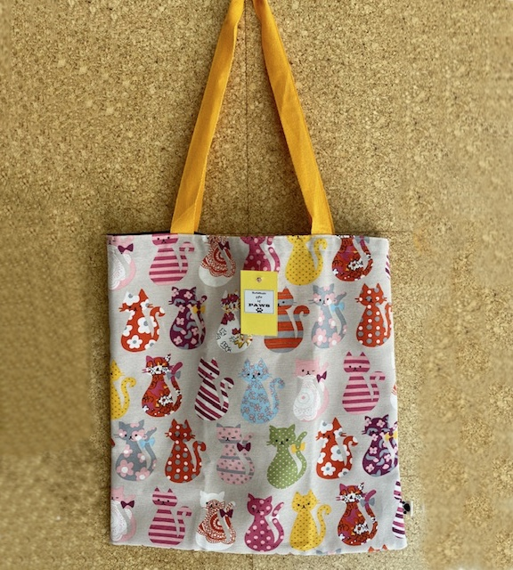 Folding Cat Shopping Bag