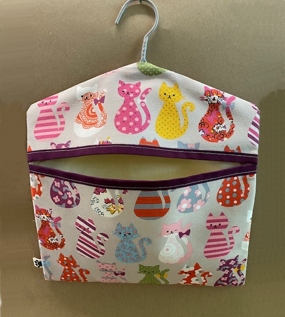 Multi Cat Bright Peg Bag